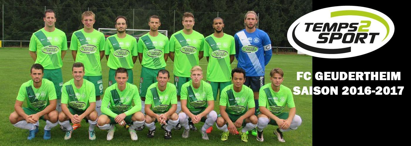 FC Geudertheim saison 2016-2017 temps 2 sport