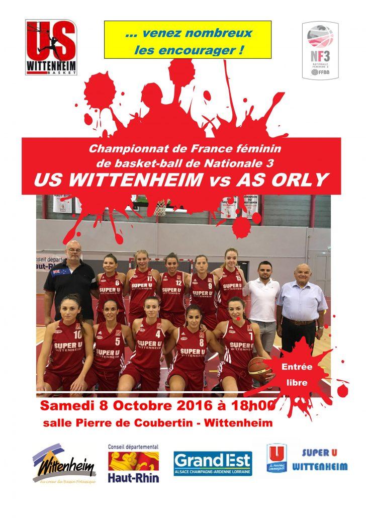 Affiche Us Wittenheim