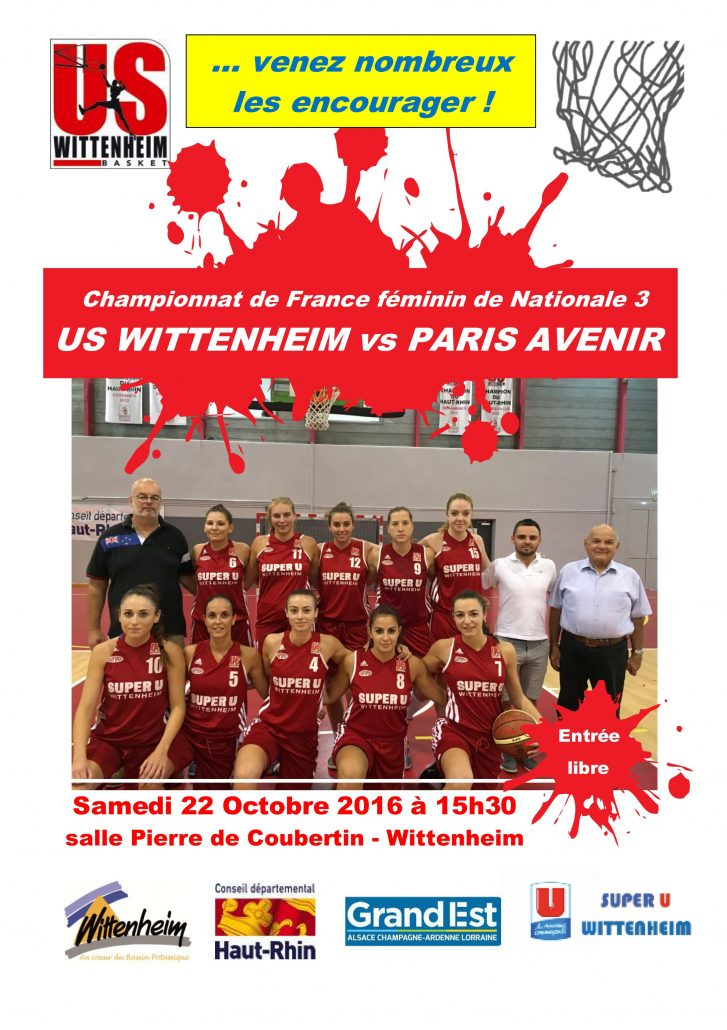 rencontre us wittenheim basket