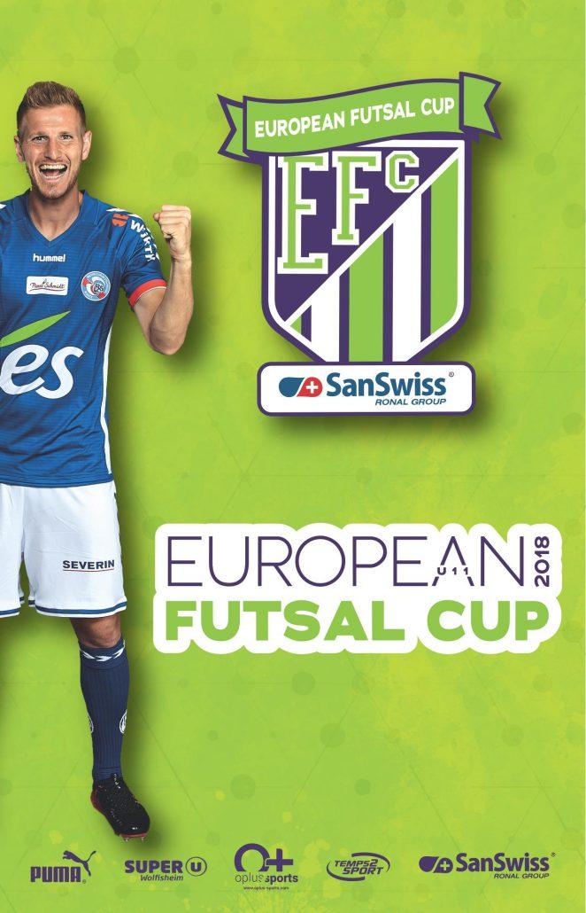 European futsal cup 2018 temps 2 sport