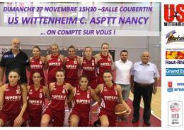 us wittenheim contre nancy avec temps 2 sport equipement sportif haut rhin