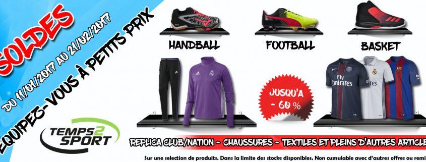 Top départ soldes temps 2 Sport magasin de sport