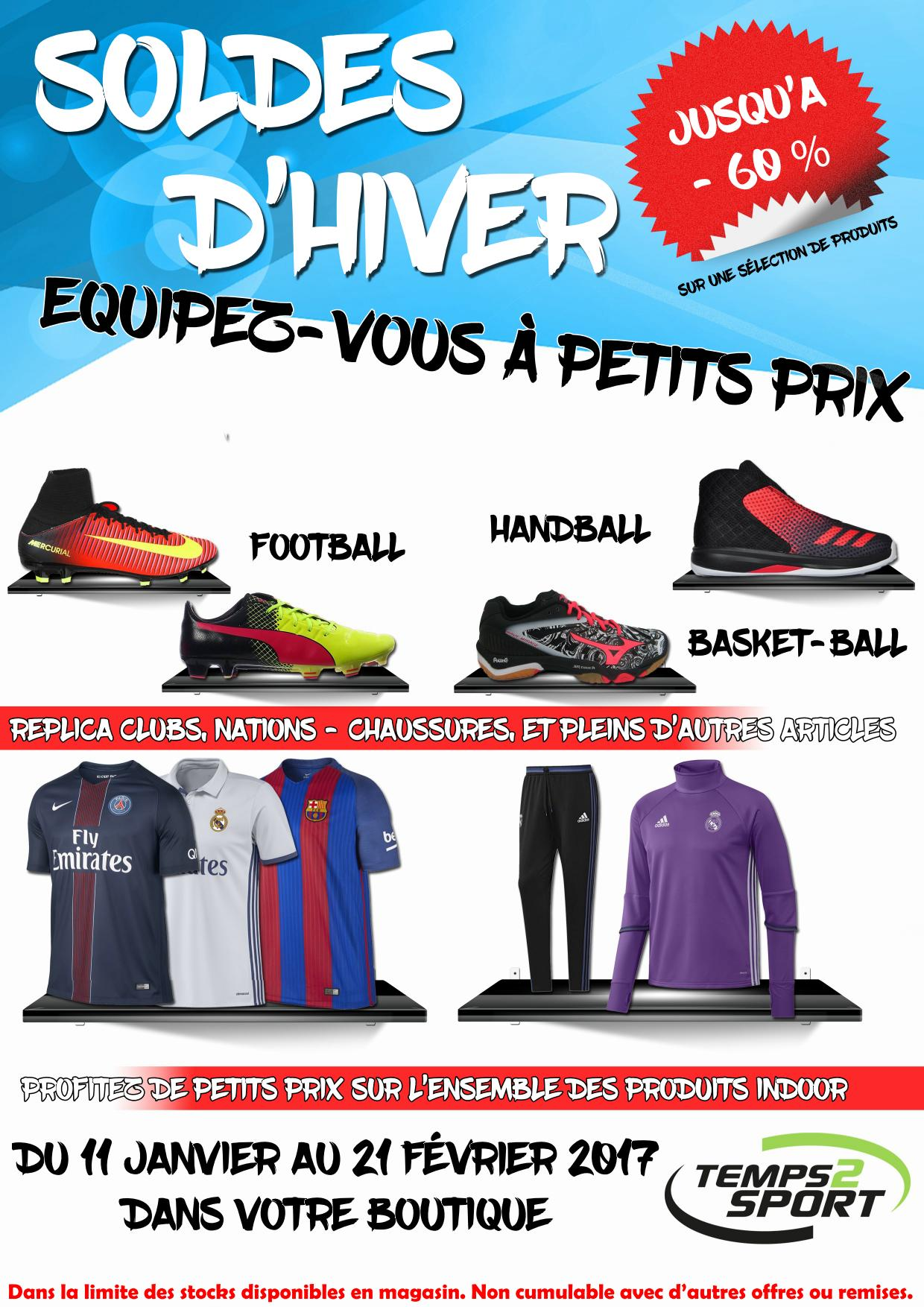 soldes sport temps 2 sport magasin equipement