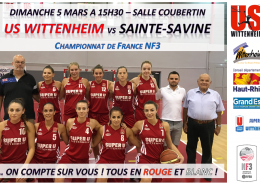 sainte savine basket feminin temps 2 sport