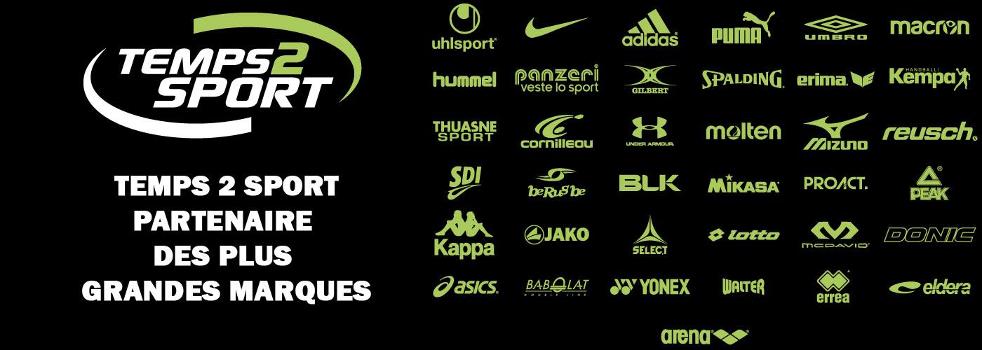 temps2sport partenaire des plus grandes marques sport adidas nike puma