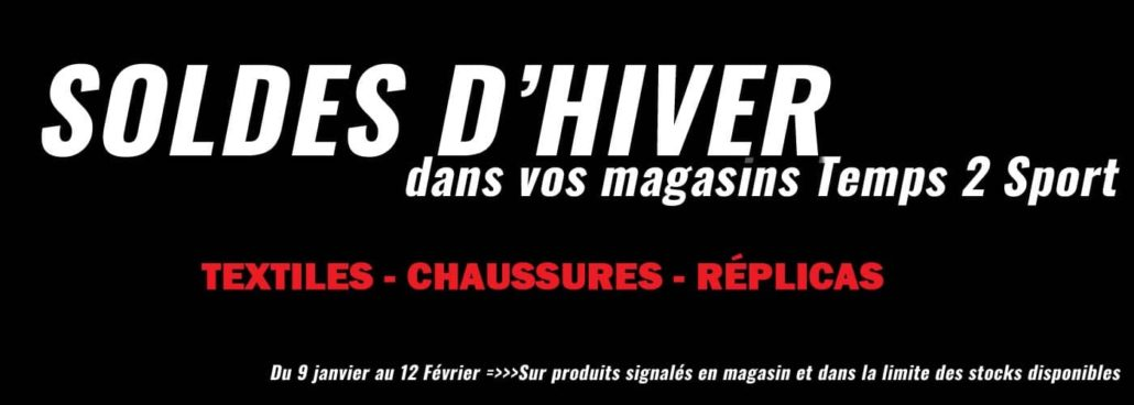 soldes hiver magasin temps2sport