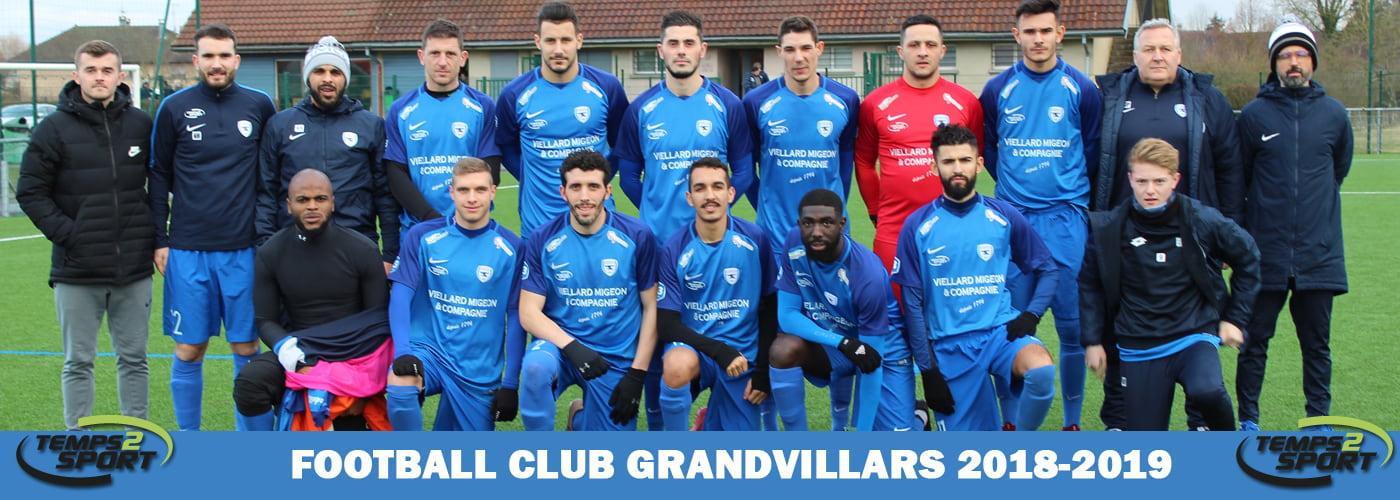 FC grandvillars equipe temps 2 sport