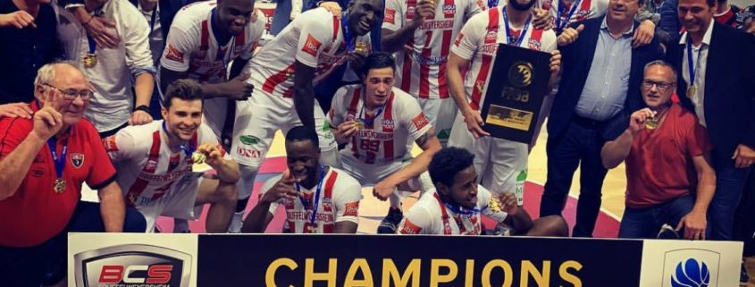 BCS basket champion 2019 temps 2 sport