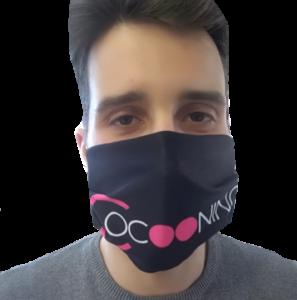 masque personnalisé coronavirus