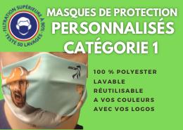 masque personnalisable covid