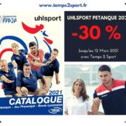 Uhlsport pétanque chez Temps 2 sport