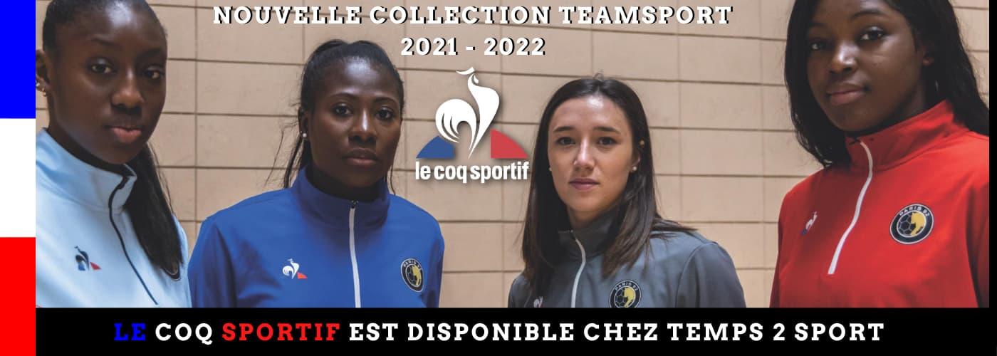 découvrez la collection Teamsport du Coq Sportif