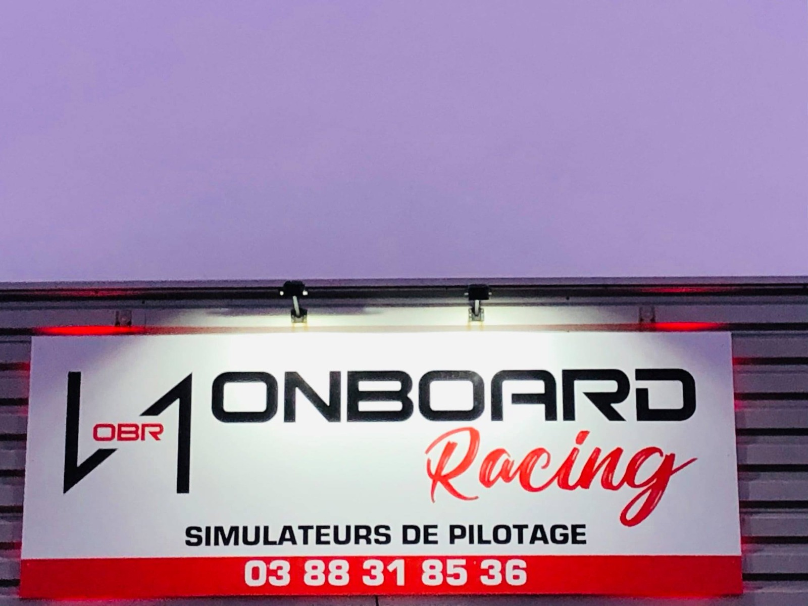 panneaux ONBOARD RACING