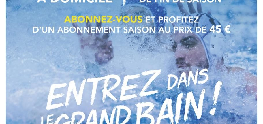 affiche Water Polo team strasbourg equipement club temps 2 sport