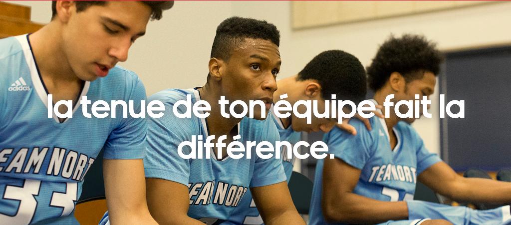 Mi team Adidas equipement sportif club sport collectif