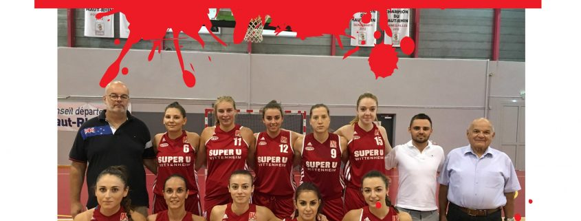 Affiche Us Wittenheim basket