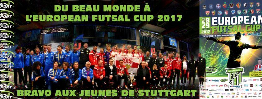 european futsal cup 2017 temps 2 sport