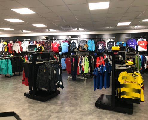 agencement magasin de sport a montbéliard
