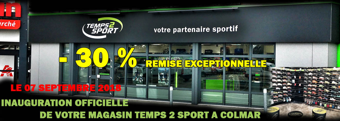 Inauguration Temps 2 Sport Colmar