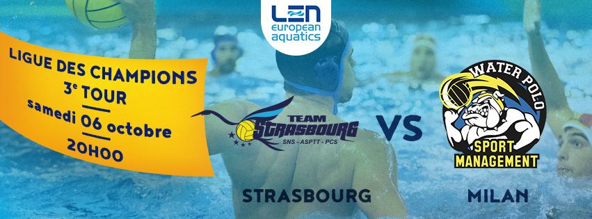 Team Strasbourg Water Polo Ligue des Champions