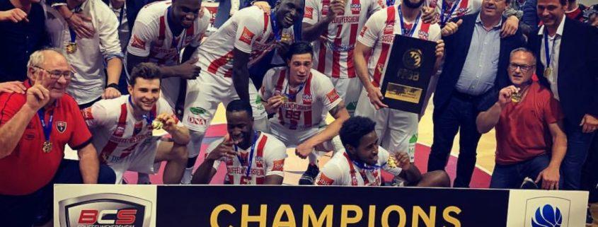 BCS basket champion 2019 temps 2 sport