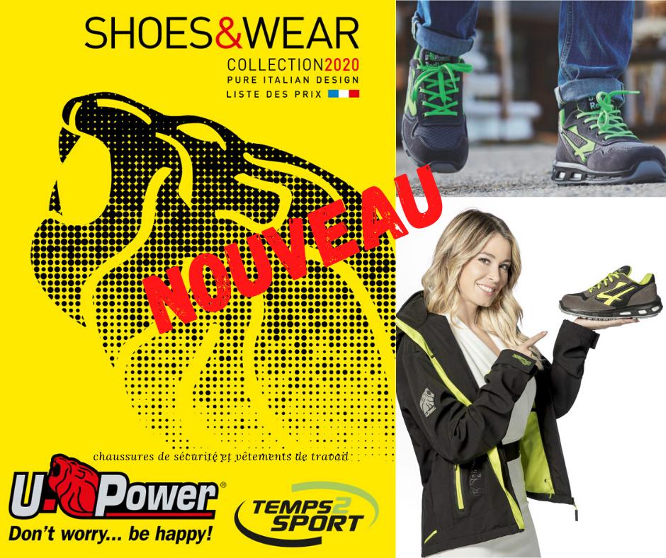 u-power chaussures de sécurité
