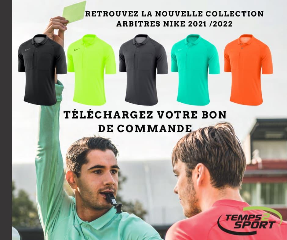 Maillots arbitres Nike 2021 Football