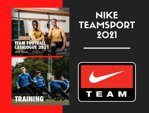 Collection Nike Teamsport 2021 – Maillots de Match – Tenues d'entraînements
