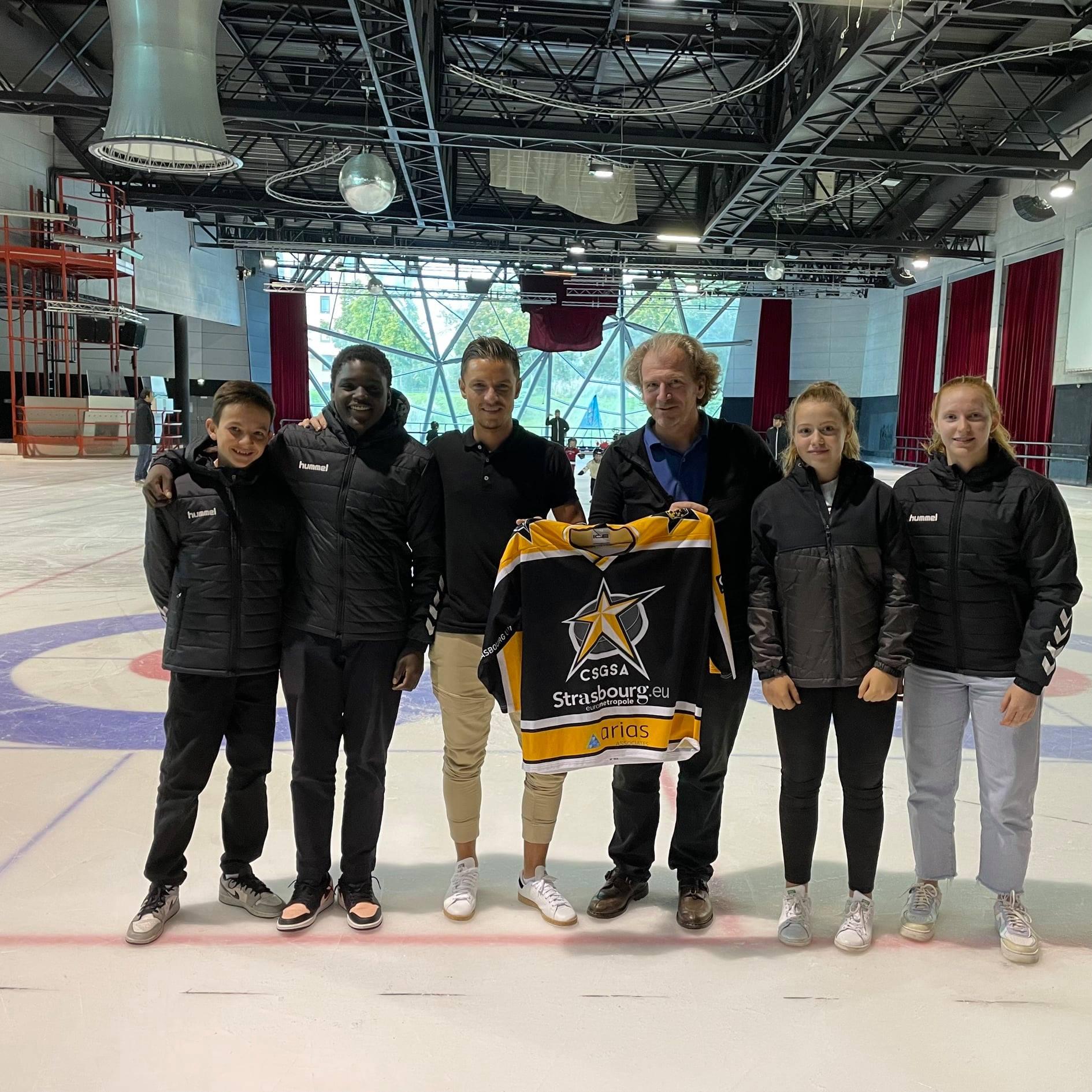 Hockey Strasbourg x HUMMEL